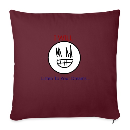 Creepy Pillow-Case - Sofa pillow with filling 45cm x 45cm