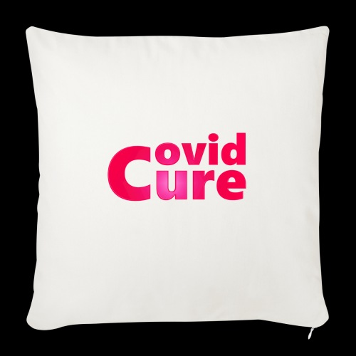 Covid Cure [IMPACT COLLECTION] - Sofa pillow with filling 45cm x 45cm