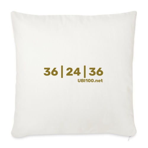 36 | 24 | 36 - UBI - Sofa pillow with filling 45cm x 45cm