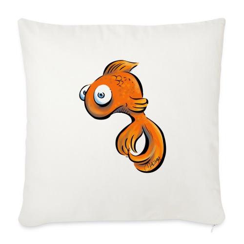 Frustfisch - Sofakissen mit Füllung 44 x 44 cm