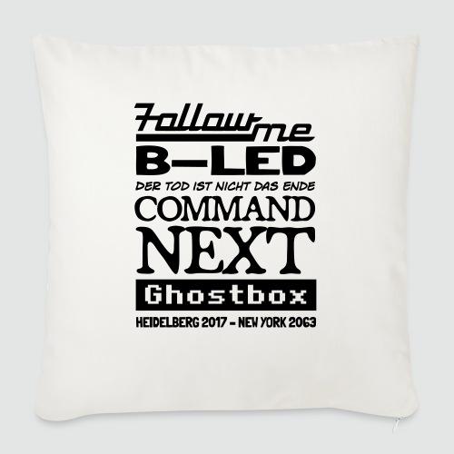 Ghostbox – Das Finale - Sofakissen mit Füllung 44 x 44 cm