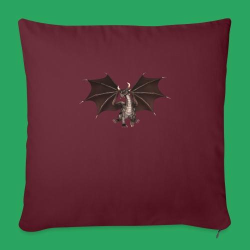 dragon logo color - Cuscino da divano 44 x 44 cm con riempimento