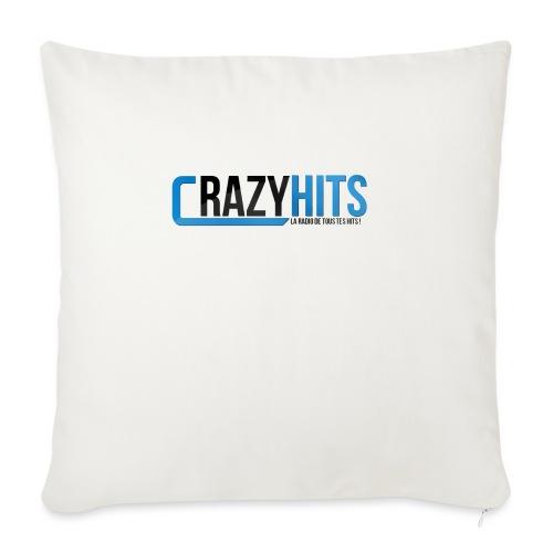 CrazyHIT - Coussin et housse de 45 x 45 cm
