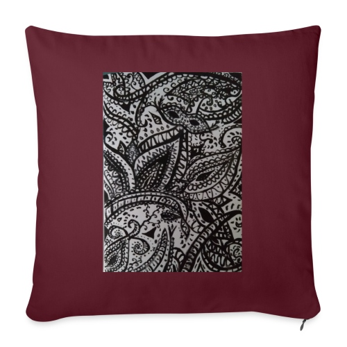 henna - Sofa pillow with filling 45cm x 45cm