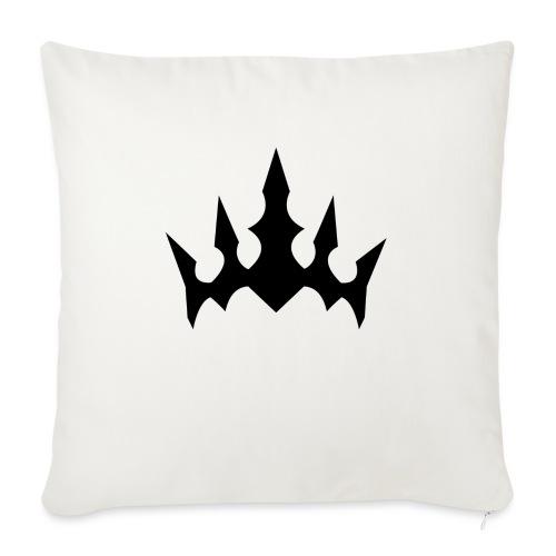 Black Crown - Sofapude med fyld 44 x 44 cm