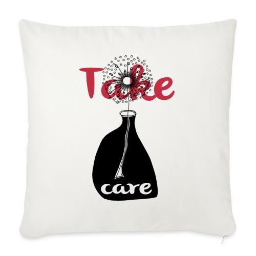 take_care - Cuscino da divano 44 x 44 cm con riempimento
