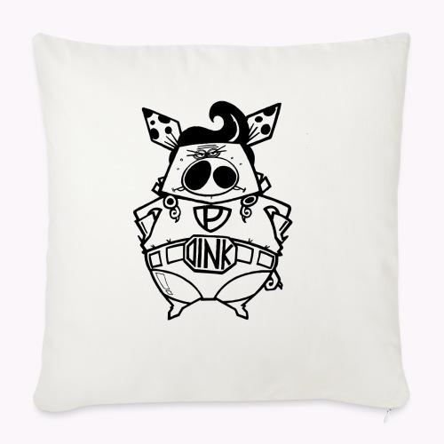 super oink - Cuscino da divano 44 x 44 cm con riempimento