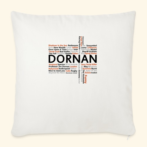 JD Facts - Sofa pillow with filling 45cm x 45cm