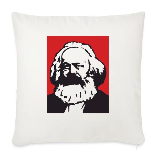 Karl Marx - Cuscino da divano 44 x 44 cm con riempimento