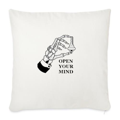 open your mind - Cuscino da divano 44 x 44 cm con riempimento