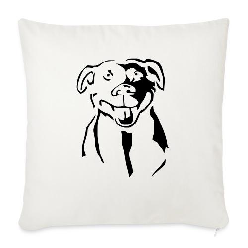 Staffordshire Bull Terrier - Sohvatyynyt täytteellä 44 x 44 cm