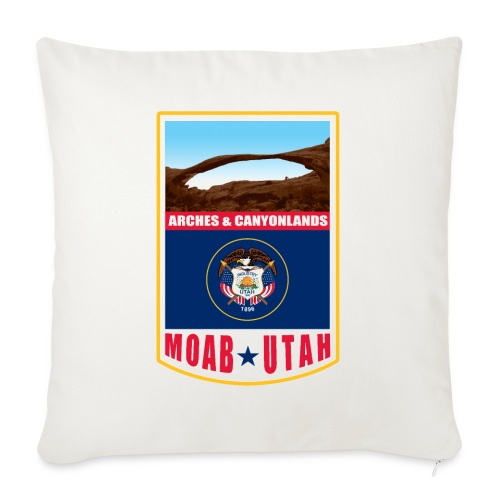 Utah - Moab, Arches & Canyonlands - Sofa pillow with filling 45cm x 45cm