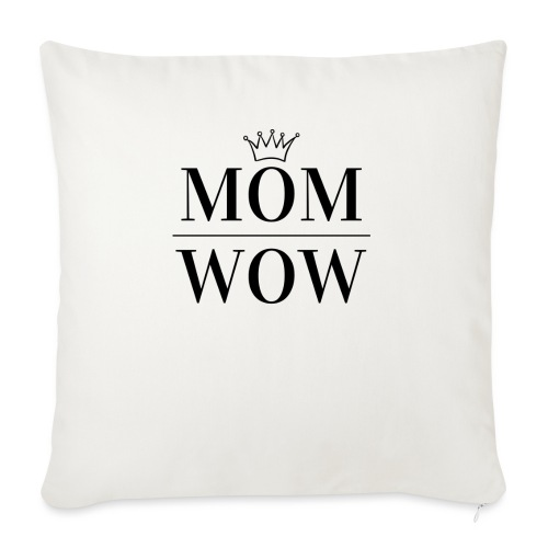 MOM WOW - Sofa pillow with filling 45cm x 45cm