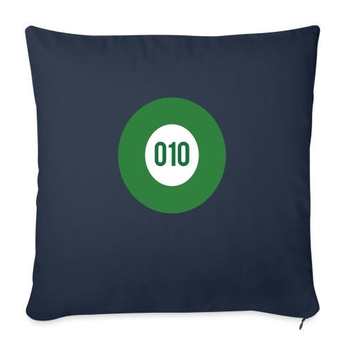 010 logo - Bankkussen met vulling 44 x 44 cm