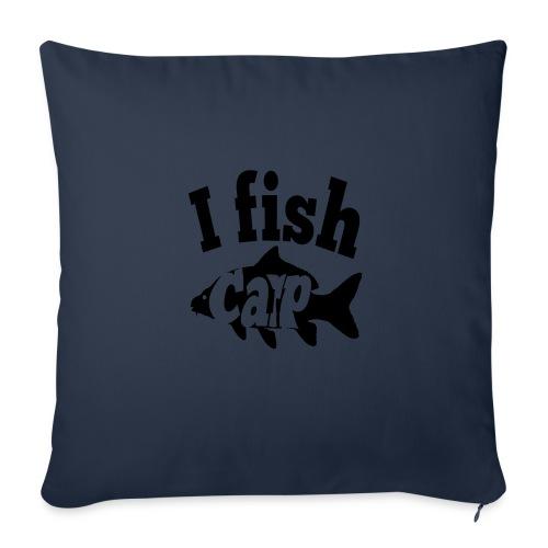 i fish carp - Bankkussen met vulling 44 x 44 cm