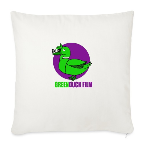 Greenduck Film Purple Sun Logo - Sofapude med fyld 44 x 44 cm