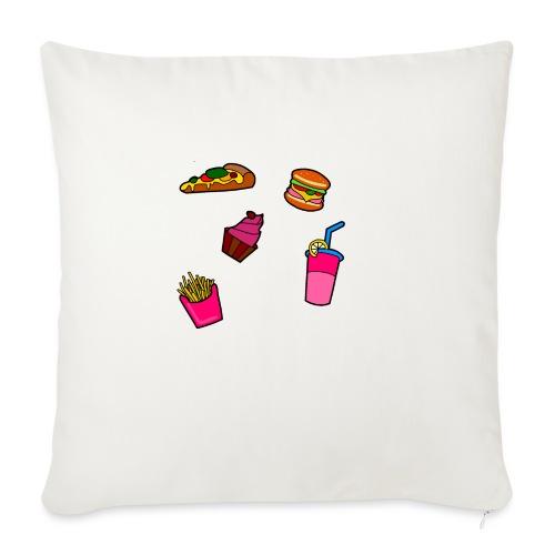 Fast Food Design - Sofakissen mit Füllung 44 x 44 cm