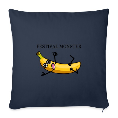 Festival Banane - Sofakissen mit Füllung 44 x 44 cm