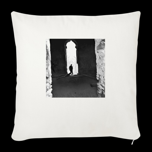 Misted Afterthought - Sofa pillow with filling 45cm x 45cm