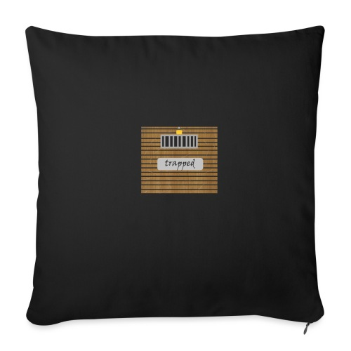 Locked box - Sofa pillow with filling 45cm x 45cm