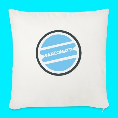 Bancomatti - Cuscino da divano 44 x 44 cm con riempimento