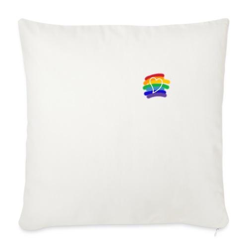 Love color - Cojín de sofá con relleno 44 x 44 cm