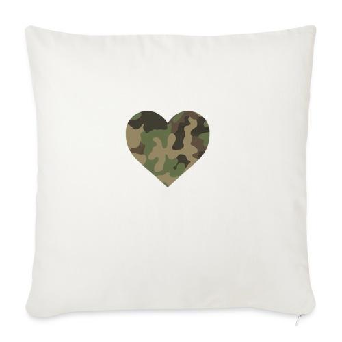 CamoHearth - Poduszka na kanapę z wkładem 44 x 44 cm