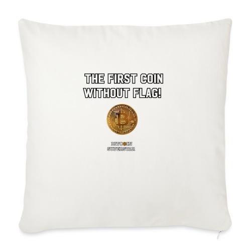 Coin with no flag - Cuscino da divano 44 x 44 cm con riempimento
