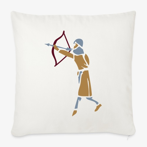 Archer Medieval Icon patjila design - Sofa pillow with filling 45cm x 45cm
