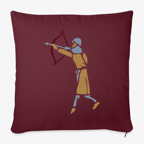 Archer Medieval Icon patjila design - Sofa pillow with filling 45cm x 45cm