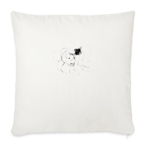 la belleza abstracta - Cojín de sofá con relleno 44 x 44 cm