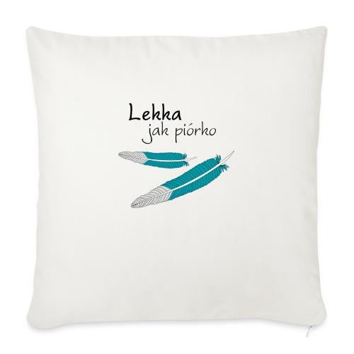 Lekka jak piórko - Poduszka na kanapę z wkładem 44 x 44 cm