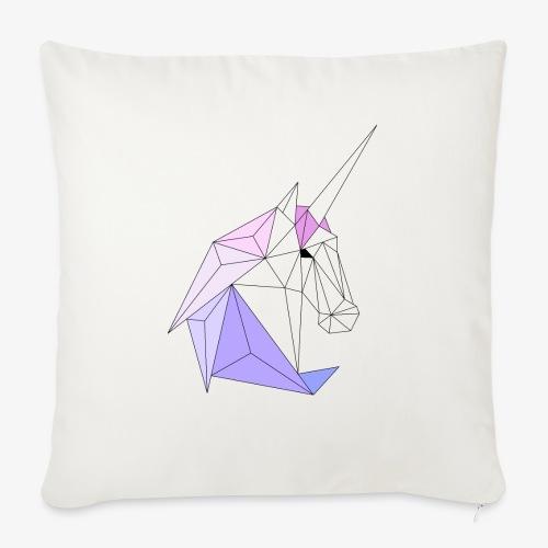 Einhorn geometrie unicorn - Sofakissen mit Füllung 44 x 44 cm
