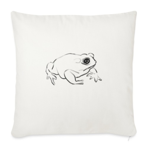 Frog - Sofa pillow with filling 45cm x 45cm