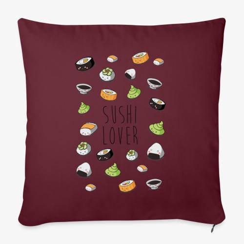 Sushi lover - Coussin et housse de 45 x 45 cm