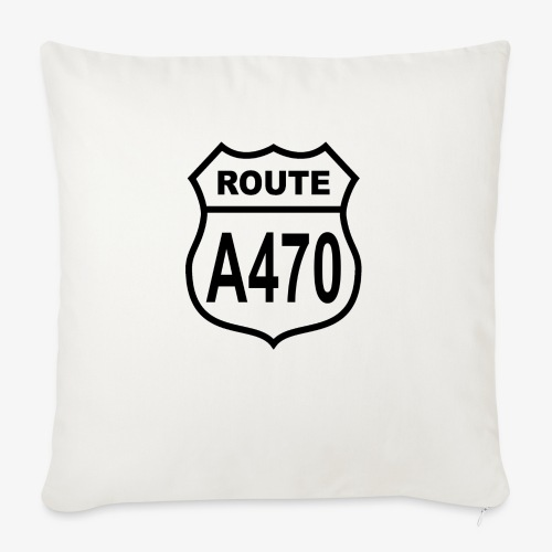 Route A470 - Sofa pillow with filling 45cm x 45cm