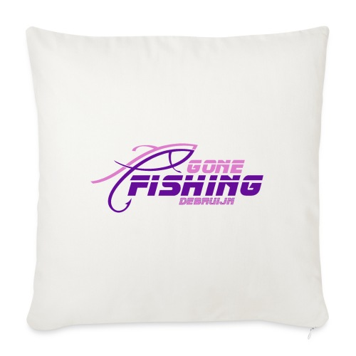 GONE-FISHING (2022) DEEPSEA/LAKE BOAT P-COLLECTION - Sofa pillow with filling 45cm x 45cm