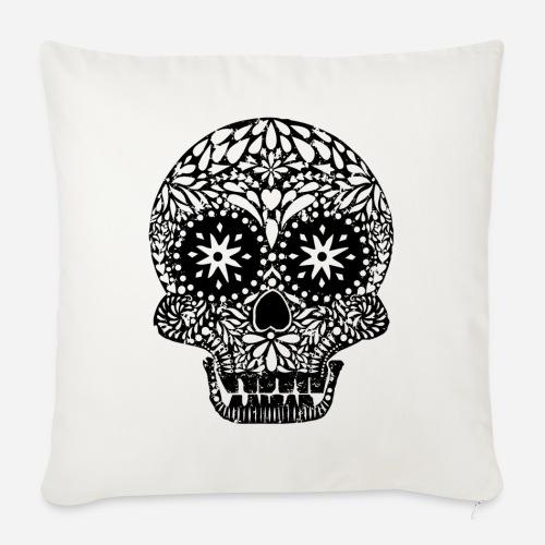 Dias de los Muertos | Skull | Der Tag der Toten - Sofakissen mit Füllung 44 x 44 cm