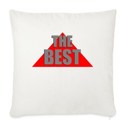 The Best, by SBDesigns - Coussin et housse de 45 x 45 cm