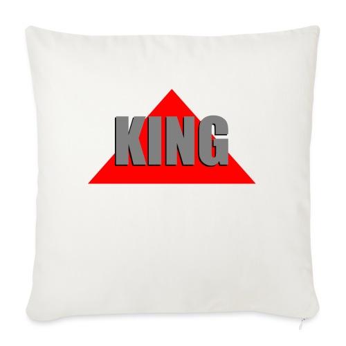 King, by SBDesigns - Coussin et housse de 45 x 45 cm