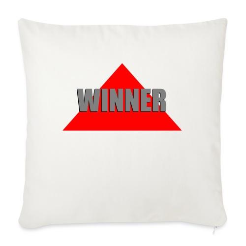 Winner, by SBDesigns - Coussin et housse de 45 x 45 cm