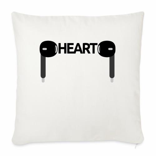 ListenToYourHeart - Poduszka na kanapę z wkładem 44 x 44 cm