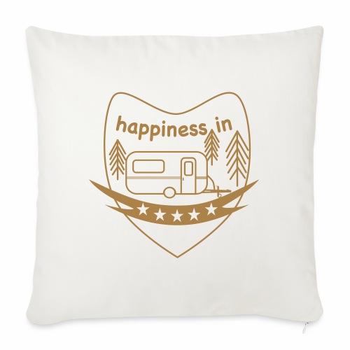 Happy Camper - Sofakissen mit Füllung 44 x 44 cm