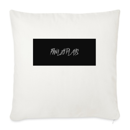 Finley plays merch - Sofa pillow with filling 45cm x 45cm