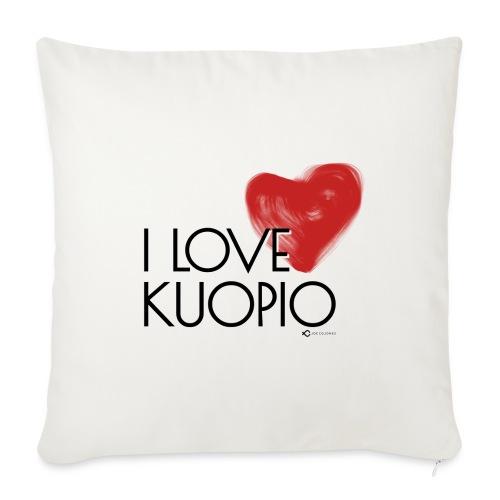 I LOVE KUOPIO 2020 - Sohvatyynyt täytteellä 44 x 44 cm