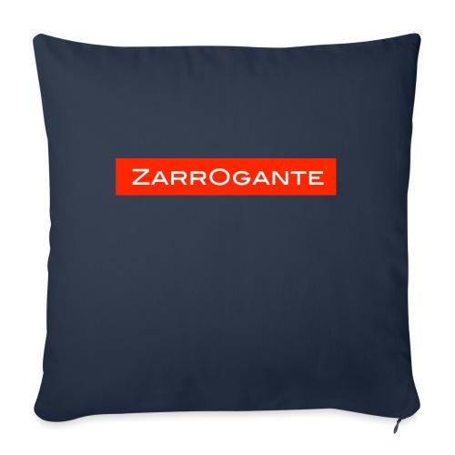 BasicLogoRed - Cuscino da divano 44 x 44 cm con riempimento