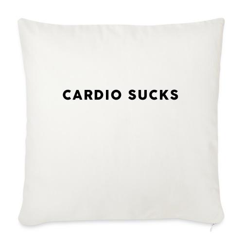 Cardio Sucks - Sofakissen mit Füllung 44 x 44 cm