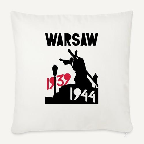 Warsaw 1939-1944 - Poduszka na kanapę z wkładem 44 x 44 cm