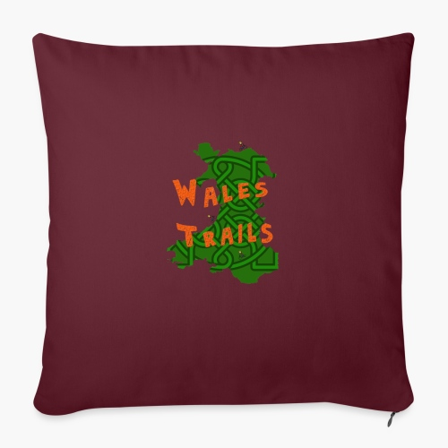 Wales Trails - Sofa pillow with filling 45cm x 45cm