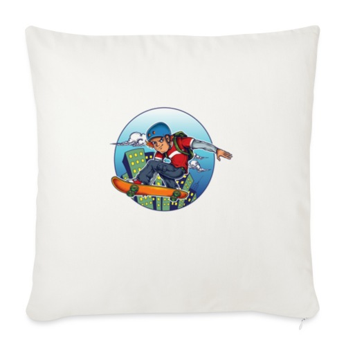 Skater - Sofa pillow with filling 45cm x 45cm